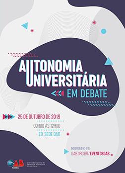 Autonomia Universitária em Debate
