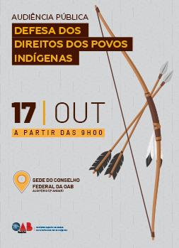 Audiência Pública sobre Defesa dos Direitos dos Povos Indígenas
